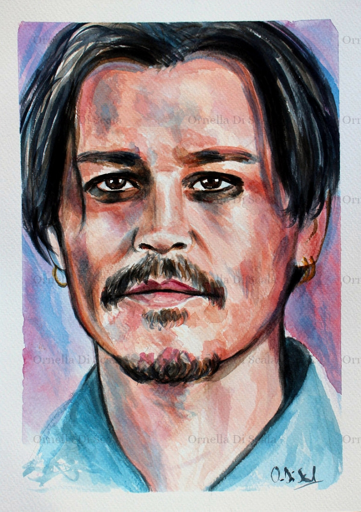 Johnny Depp by velvetdressx